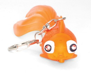 GOLDFISH LED KEY CHAIN