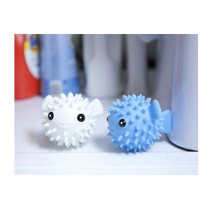 DRYER BUDDIES PUFFER FISH SET OF 2