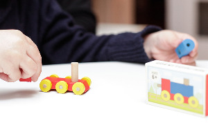 PUZZLE MATCHBOX TRAIN