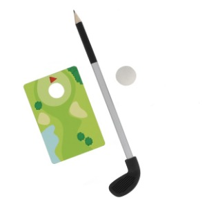 Set za Pisanje i Igru – Mini Golf